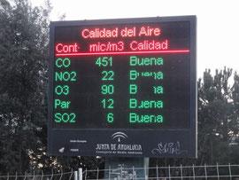 Córdoba - Die Luftqualität ist gut