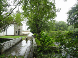 Kapelle Santa Luzia bei Regen