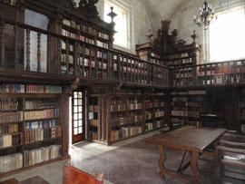 Kloster Oseira - Bibliothek