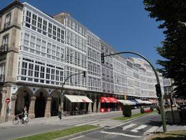 A Coruna - Galerias Corunesas