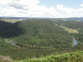 Castro - Mirador Aussichtspunkt
