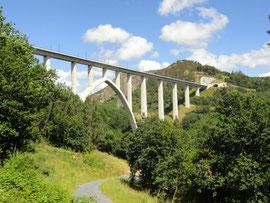 Ponte Ulla - Neue Hochgeschwindigkeitszugsbrücke