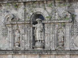 Santiago - Kathedrale Fassade