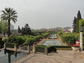 Córdoba - im Garten des Palastes der christlichen Könige