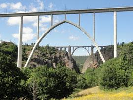 Ponte Ulla - Neue und alte Eisenbahnbrücke