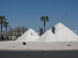Valdelagrana - Denkmal der Salzgewinnung
