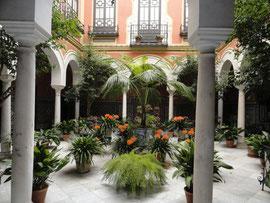 Sevilla - schöner Innenhof