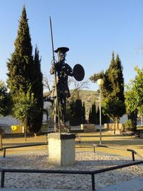 Castro del Rio - Denkmahl Don Quijote