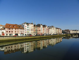 Bayonne - am Ufer der Nive