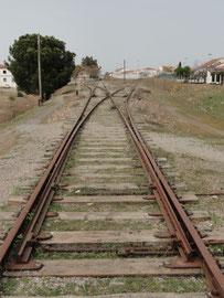 Cerro Muriano - altes Bahnhofgelände