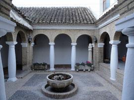 Castro del Rio - Innenhof des Ratshauses