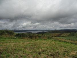 Monte Aro - Blick auf Fervenza-Stausee