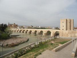 Córdoba - römische Brücke und Torre Calahorra