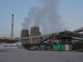 Barreda - Chemiewerk am Jakobsweg