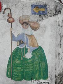 Ferrol - Wandmalerei