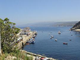 Malpica - Hafen