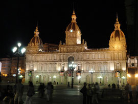 A Coruna - Rathaus