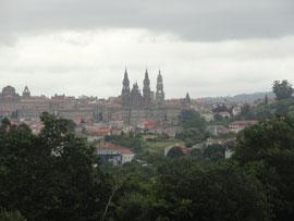 Sarela de Abaixo - Blick auf Santiago