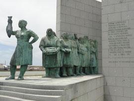Póvoa da Varzim Monumento Mulher Pescador