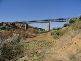 Vado-Jaen Via Verde del Aceite Viadukt Ayo Salado
