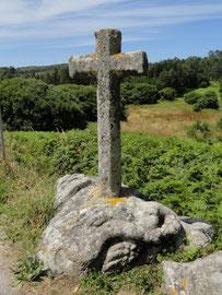 Corme - Pedra da Serpe (versteinerte Schlange)