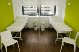 Ruheraum in einer Reproduktionsklinik, Düsseldorf, 2011