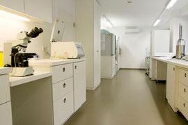 Labor in einer Reproduktionsklinik, Düsseldorf, 2011