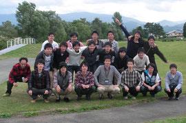 2012年メンバー(スペシャルゲスト:平澤正勝准教授)