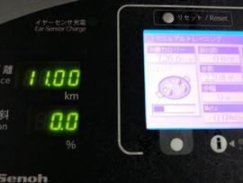 11キロ、726カロリーでパエリアです。