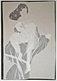 Im durscheinenden Kleid, 132 x91 cm, 2014