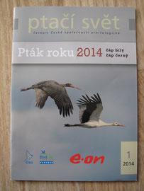 Revue d'ornithologie nationale Tchèque - Février 2014-