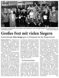 Dienstag, 24. Mai 2005, Schützenfest