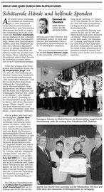 Donnerstag, 08. Januar 2009, Seniorensitzung