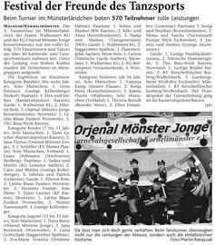 Freitag, 16. März 2007, 2. Tanzturnier