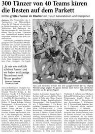 Donnerstag, 06. März 2008, 3. Tanzturnier
