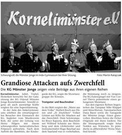 Dienstag, 10. Februar 2009, Große Sitzung