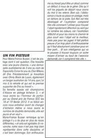 interview de marie-France sur ces aussies et le pistage français