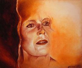 Autoritratto (olio su tela) 50 x 60 - 2013