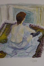 Tempera-libera interpretazione, da Toulouse Lautrec-2005