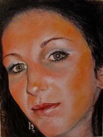 Debie (olio su tela) 30x30 - 2012 COLLEZIONE PRIVATA