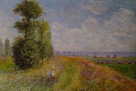 Omaggio a Monet (olio su tela) - 2006 COLLEZIONE PRIVATA