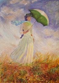 Omaggio a Monet (olio su tela) 50x60-2006 COLLEZIONE PRIVATA