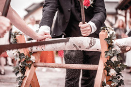Hochzeit von Sina und Tilman im Hotel Seehof in Wermsdorf.