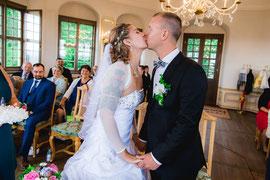 Hochzeit mit Tina und Marco in der Sächsischen Schweiz auf der Festung Königstein.