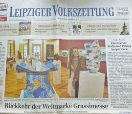 Leipziger Volkszeitung 24.10.2008