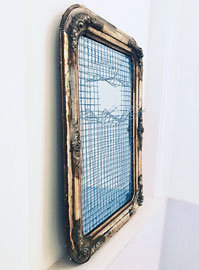 THE BLUE LAURIN, ca. 102 x 71 cm, various sizes, edition: 3 unique pieces, signed + numbered, 2016 - 2018
