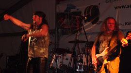 ... mit Livemusik von BOURBON STREET bei der Rock Night