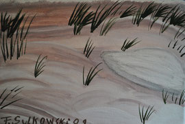 """ Sandstrand "" Keilrahmen   30 cm / 25 cm   ... 80,.€"