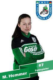 Mareike Hemmer # 7