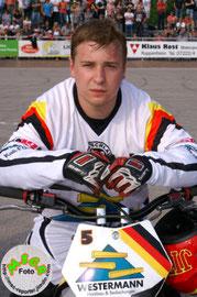 Platz 3:  Kevin Gerber (Deutschland)
